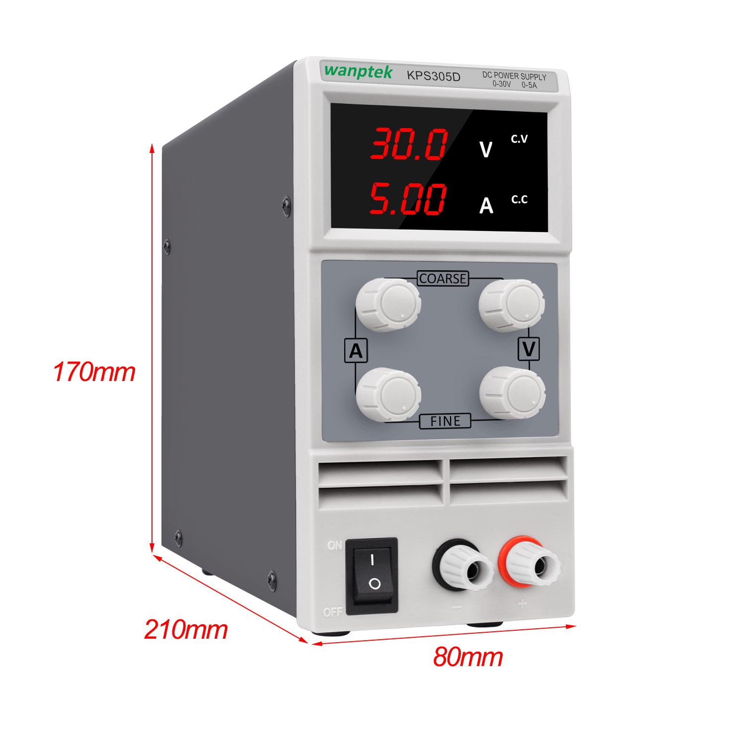 Giá Switching Power Supply Power Control 220v 110V Lab Power Supply Dc Adjustable Source 5a 30v Voltage and Current Regulator