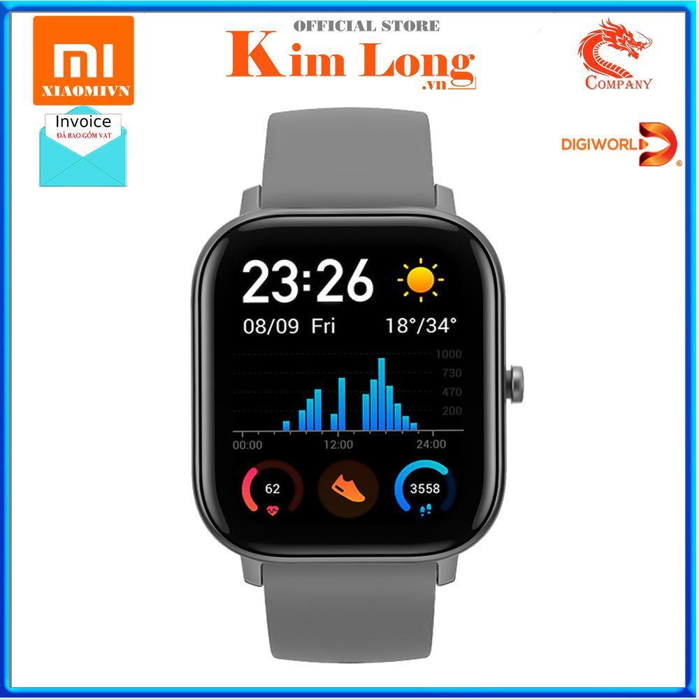 Đồng Hồ Thông Minh Xiaomi Amazfit GTS Bản Quốc Tế 2019 - Hàng Digiworld - Bảo hành 12 tháng