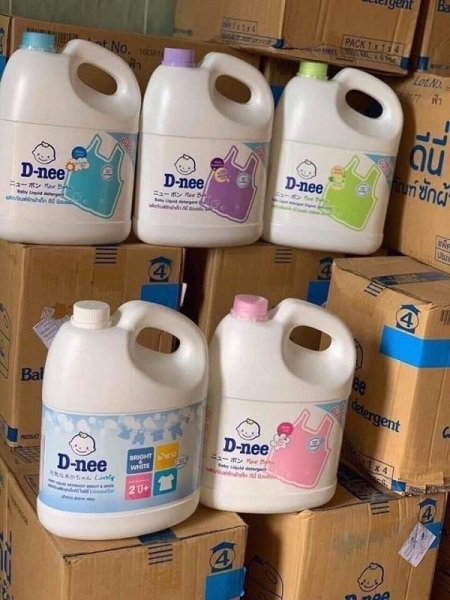 Nước giặt xả đồ trẻ em D-nee - Nước giặt quần áo cho trẻ D-nee cao cấp