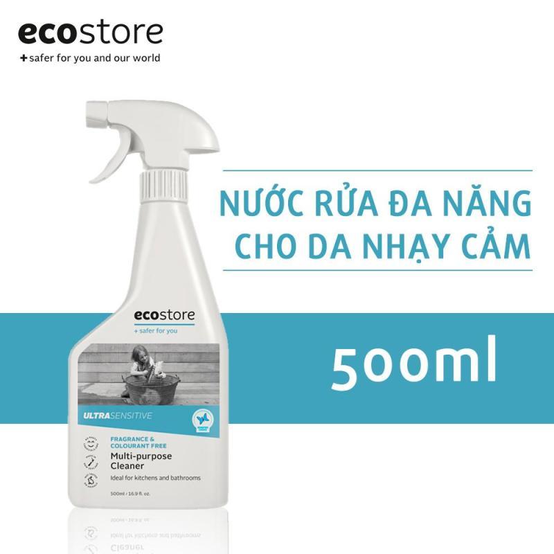 Nước rửa đa năng gốc thực vật dành cho da nhạy cảm ecostore 500ml