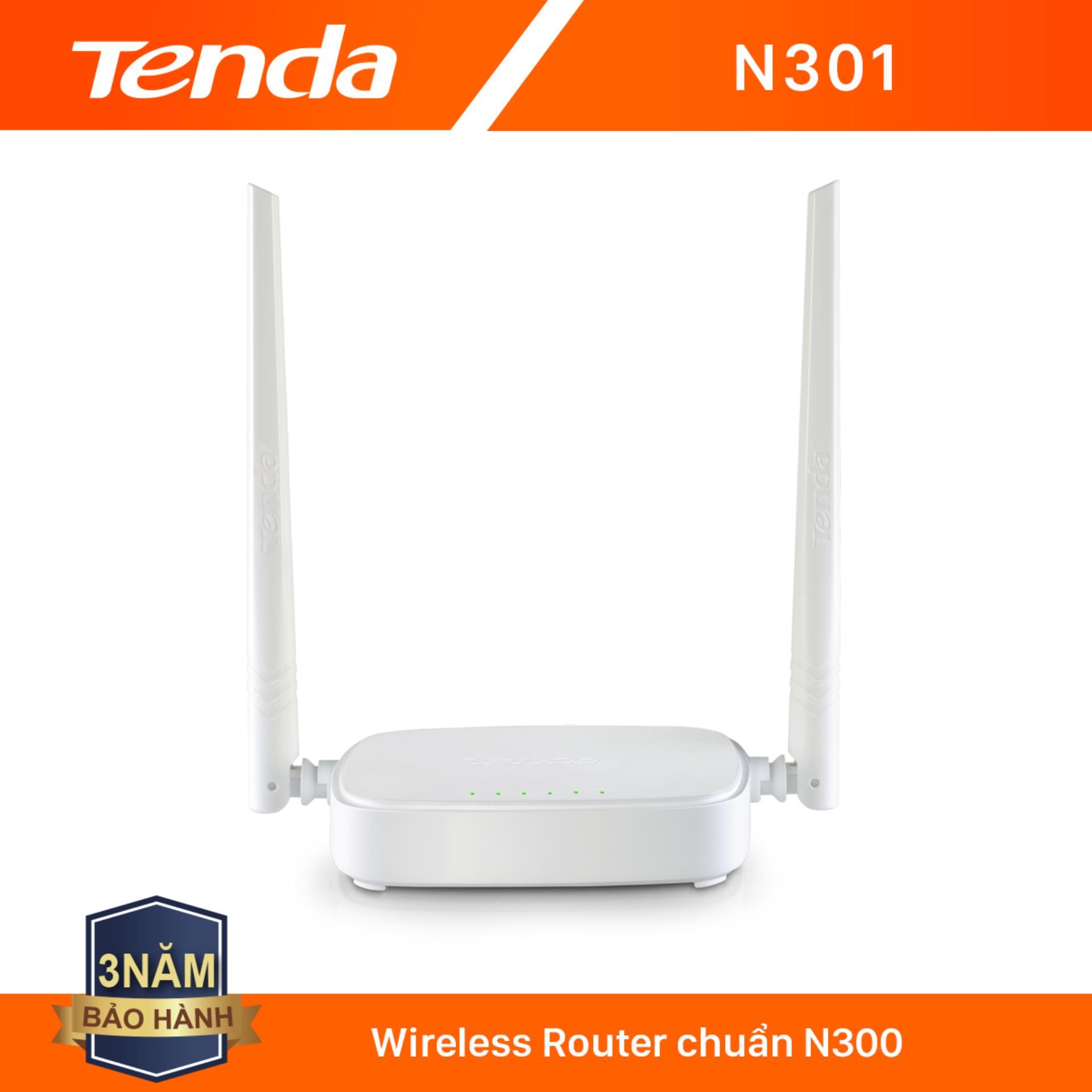 Giá Tenda Thiết bị phát Wifi N301 Chuẩn N 300Mbps - Hãng phân phối chính thức