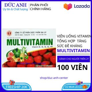 [HSD 2024] Vitamin tăng sức đề kháng giúp bồi bổ cơ thể tránh căng thẳng mệt mỏi hộp 100 viên thumbnail