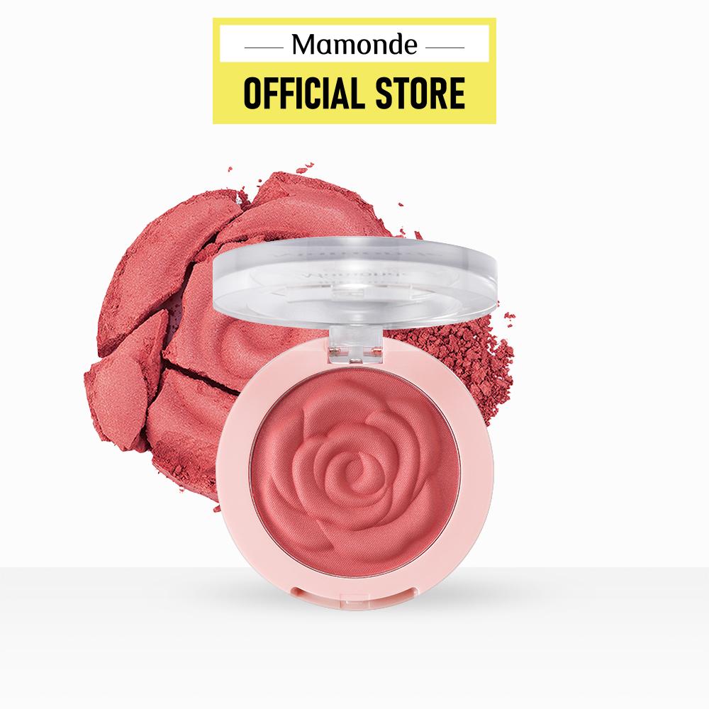 Phấn má ửng sắc hồng Mamonde Flower Pop Blusher 8g