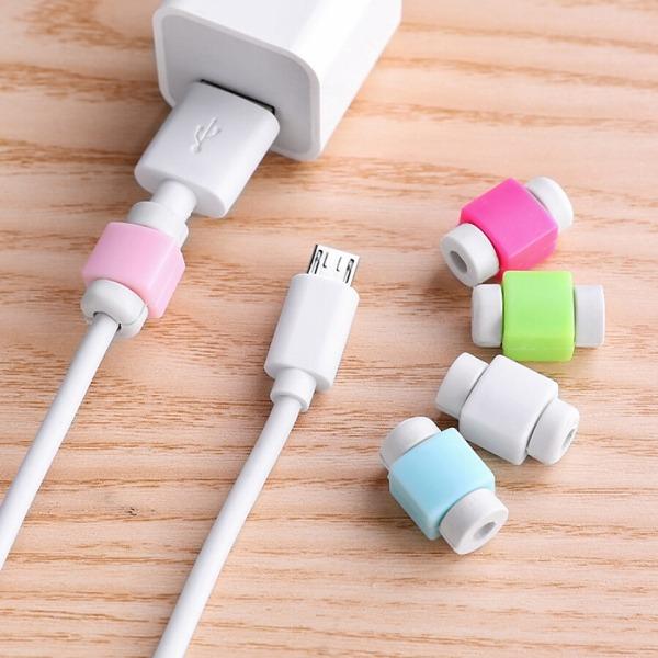 Nút chống gãy dây sạc iPhone, ipad ,Macbook.. màu ngẫu nhiên