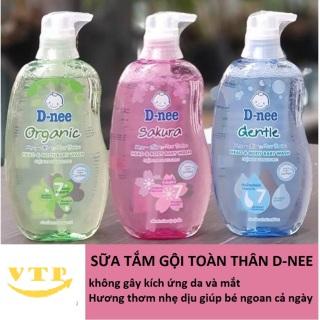 Tắm Gội Toàn Thân Dnee Pure 380ml Thái Lan - Khách Chọn Màu thumbnail