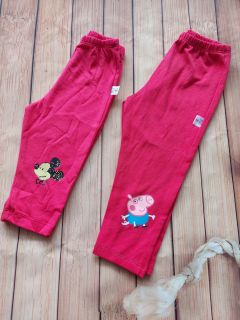Quần legging màu hồng dâu size 8-16kg thumbnail
