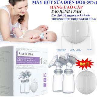 Máy Hút Sữa Real Bubee, với hai chế độ matxa và kích sữa Chống Tắc Tia Sữa KHUYẾN MÃI HẤP DẪN thumbnail