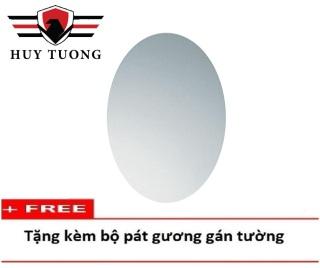 Gương phòng tắm cao cấp 30 x 45 Viền thoi ( kiếng cường lực 5mm ) 103a - Huy Tưởng thumbnail