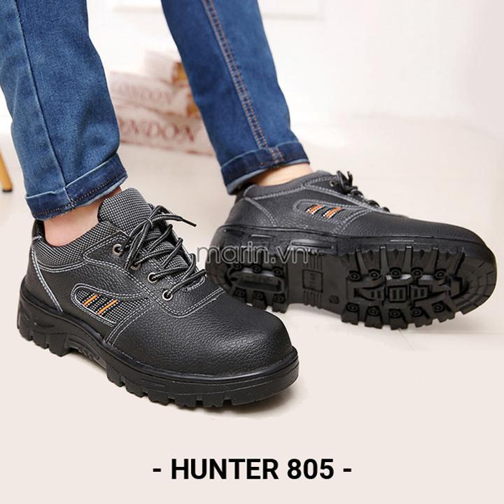 Giày bảo hộ lao động da nổi Hunter Jin 805 giá rẻ