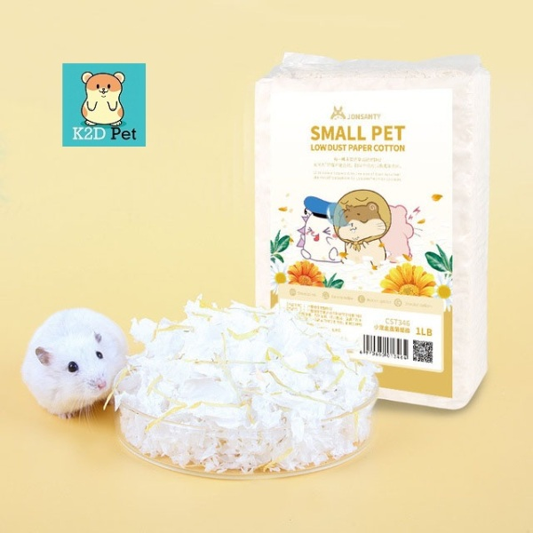 Giấy lót chuồng Hamster Small Pet Cotton Jonsanty 1LB