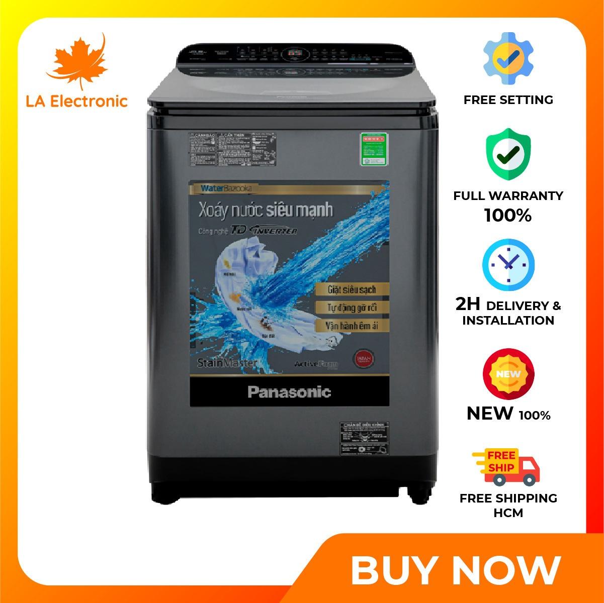 Trả Góp 0% - Máy giặt Panasonic Inverter 10.5 Kg NA-FD10AR1BV - Miễn phí vận chuyển HCM