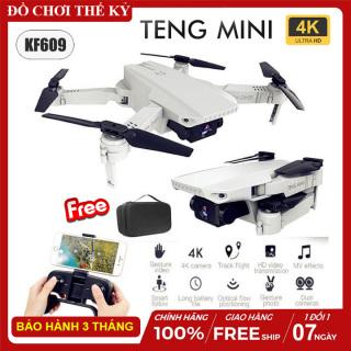 [ KÈM TÚI ] Flycam mini KF609 máy bay điều khiển từ xa Camera 4K ảnh truyền trực tiếp về điện thoại tự động dữ độ cao thumbnail