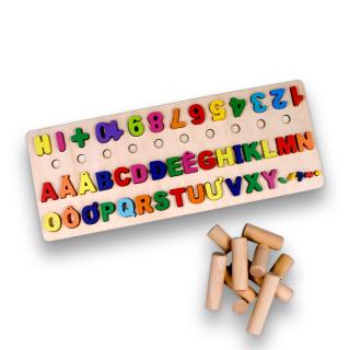 Bảng chữ cái cho bé, bảng chữ ghép vần lớp 1, bảng chữ cái in hoa tiếng việt gồm chứ cái abc, chữ số, hình khối cột tính bậc thang và ký tự đặc biệt. thumbnail