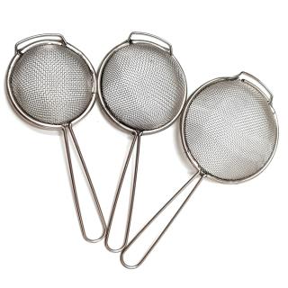 Dụng cụ nhà bếp - rây lọc thực phẩm bộ 3 inox tiện dụng thumbnail
