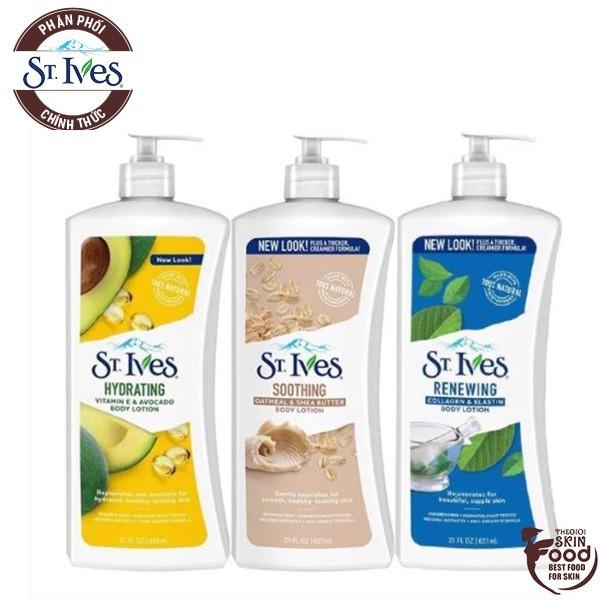 Sữa Dưỡng Thể Toàn Thân ST.Ives Body Lotion 621ml