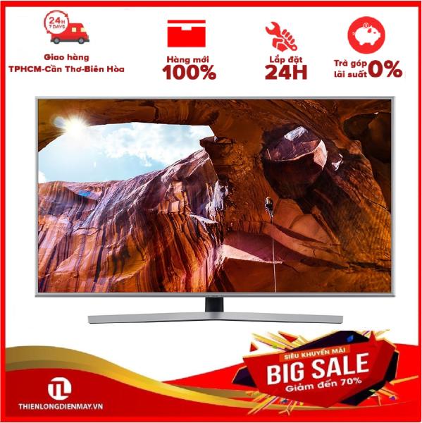 Bảng giá TRẢ GÓP 0% - Smart Tivi Samsung 4K 43 inch UA43RU7400 Mẫu 2019 - Dynamic Crystal Color cho trải nghiệm hình ảnh chân thực, đầy màu sắc, công nghệ UHD Dimming hoàn thiện chất lượng hình ảnh -- Bảo hành 2 năm