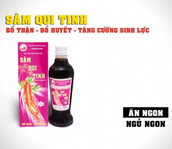 SÂM QUY TINH hỗ trợ bổ huyết thông mạch cao cấp