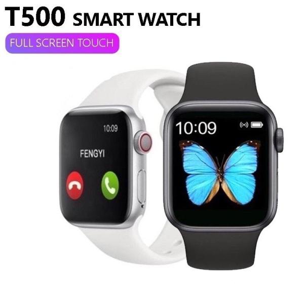 Nơi bán Đồng Hồ Thông Minh T500Thay Dây Nghe Gọi Nhắn Tin Đo Nhịp Tim Giống Apple Watch. Bảo hành đổi mới do lỗi nhà sản xuất trong vòng 60 ngày