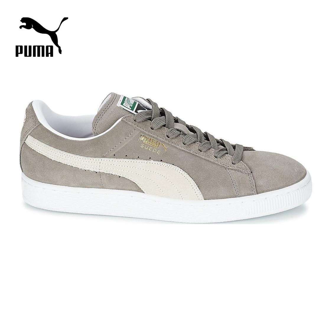 Giá Tiết Kiệm Khi Sở Hữu Giày Thể Thao Nam Puma Suede Classic+ Màu Xám Trắng