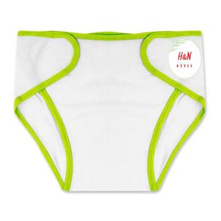 [Set 10 chiếc] Tã quần lót bỉm, chất liệu vải cotton màu trắng dành cho trẻ sơ sinh từ 0 - 6 tháng - H&N Style thumbnail