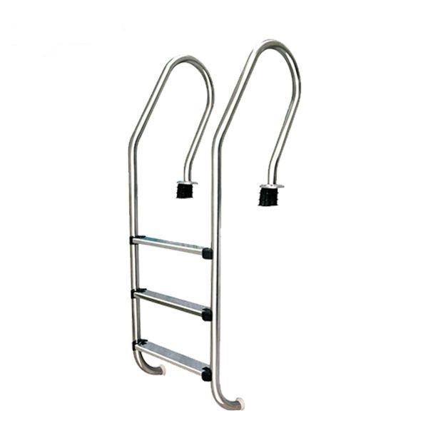 THANG HỒ BƠI 3 BẬC, thang lên xuống hồ bơi 3 bậc, Thang inox 304 dùng cho hồ bơi, tay vịn lên xuống bể bơi