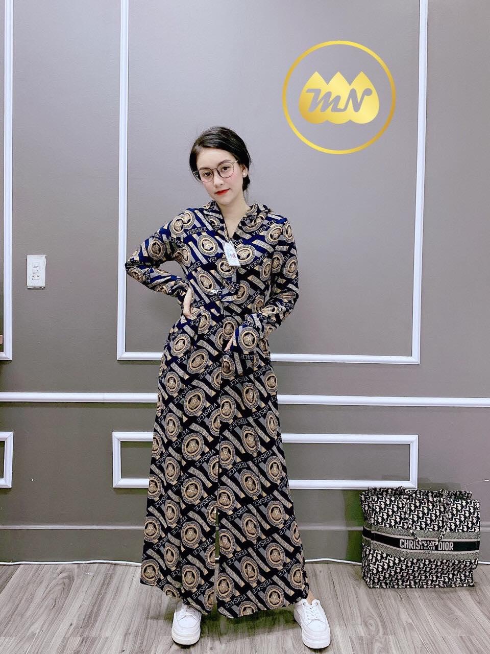 Áo chống nắng toàn thân 3 lớp vải lanh nhung Nhật chất xịn mềm êm nhẹ thoáng mát chùm kín chân