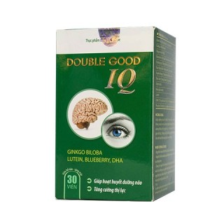Double Good IQ - Hỗ trợ tăng cường tuần hoàn máu lên não thumbnail
