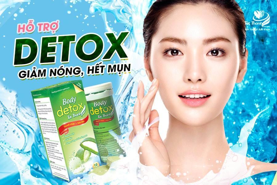 SỦI BODY DETOX - Giải Độc  Mát Gan  Thanh Nhiệt