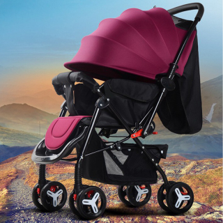 Xe đẩy cho bé, xe đẩy em bé, Xe đẩy em bé cao cấp Baby Smile, Xe đẩy trẻ em 2 chiều 3 tư thế đa năng, TẶNG NGAY BỘ ĐỒ CHƠI NÚM GỖ CHO BÉ CHỦ ĐỀ NGẪU NHIÊN, Xe đẩy du lịch, xe đẩy gấp gọn thumbnail