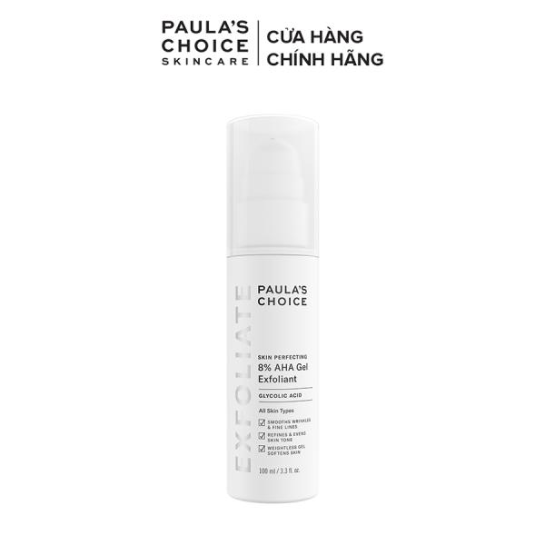 Gel loại bỏ tế bào chết làm mềm và sáng mịn da Paulas Choice Skin Perpecting 8% AHA Gel Exfoliant