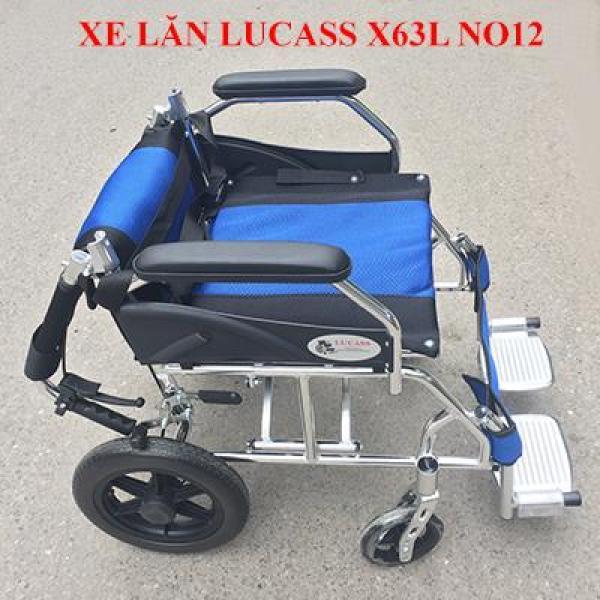 Xe Lăn Cao Cấp Nhôm Du Lịch x63l NO12