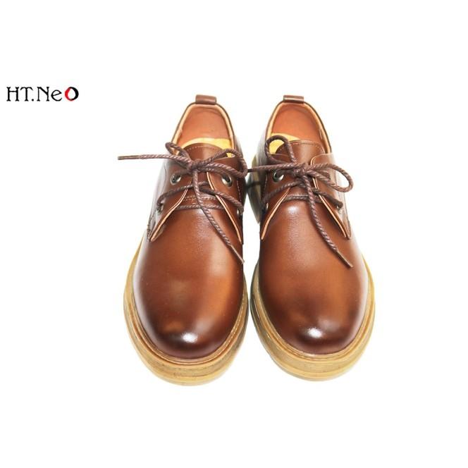 Giày Dr Nam 💖 Ht.Neo 💖 Da Bò Xịn Thật Kết Hợp Đế Kếp Siêu Bền, Siêu Đẹp Phối Đồ Thể Thao Năng Động Siêu Chất. giá rẻ