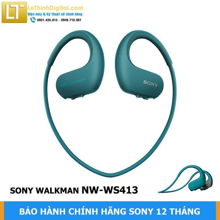 Máy Nghe Nhạc Sony Walkman NW-WS413 (Xanh Dương) Giảm Cực Sốc