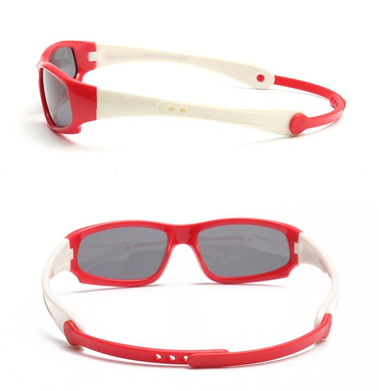 Giá bán Kính trẻ em phong cách thể thao chống tia UV + Tặng hộp kính K170