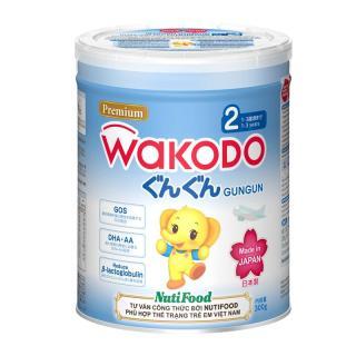 Sữa WAKODO GUNGUN Số 2 (1-3 tuổi) - Lon 830gr thumbnail