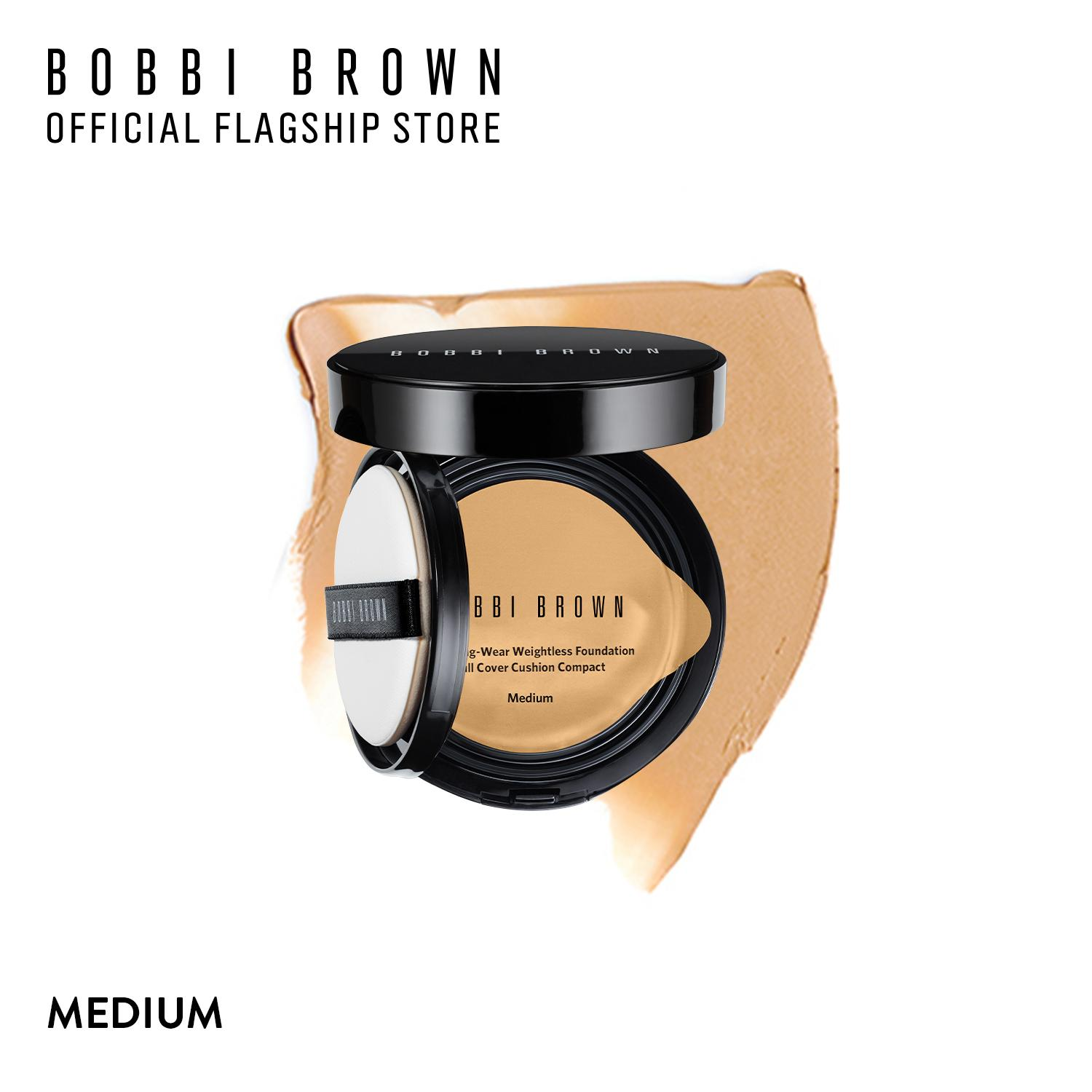 Phấn nền Bobbi Brown Skin Longwear Weightless Foundation SPF 50 PA+++ Full Cover Cushion Compact 13g