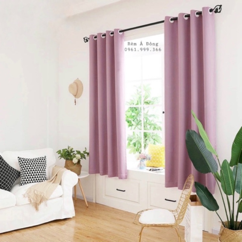 Rèm trang trí cửa sổ phòng ngủ phòng khách 1.3x1.8m , sản phẩm tốt, chất lượng cao, cam kết sản phẩm nhận được như hình