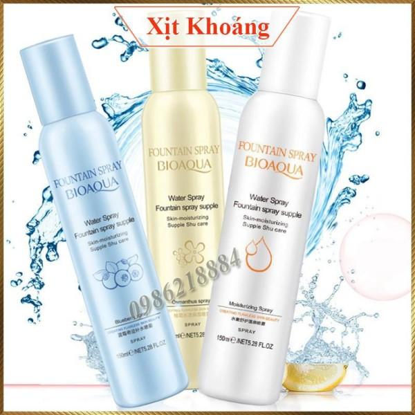 Xịt khoáng dưỡng ẩm Bioaqua XK23 Việt Quất xanh