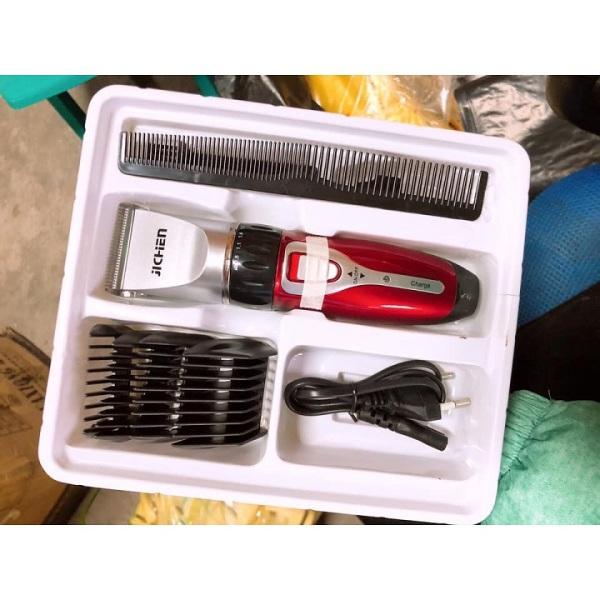 Bộ dụng cụ làm tóc đa năng , Tăng đơ cắt tóc nam JiChen 8017 , nhỏ ngọn tiện lợi , máy êm , pin khủng , sạc siêu nhanh , cam kết bảo hành 66 ngày toàn quốc
