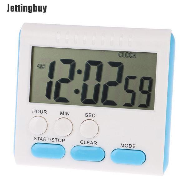 Nơi bán Đồng Hồ Kỹ Thuật Số Nấu Ăn Jettingbuy LCD, Đồng Hồ Đếm Ngược, Báo Thức Lớn