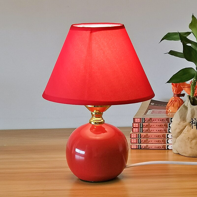 Red Table Lamp Best In, Formal Table Lamps