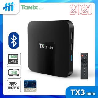 Android Tivi Box TX3 mini 2021 - BH 1 năm - 2G Ram và 16G bộ nhớ trong - AndroidTV MyK+ thumbnail