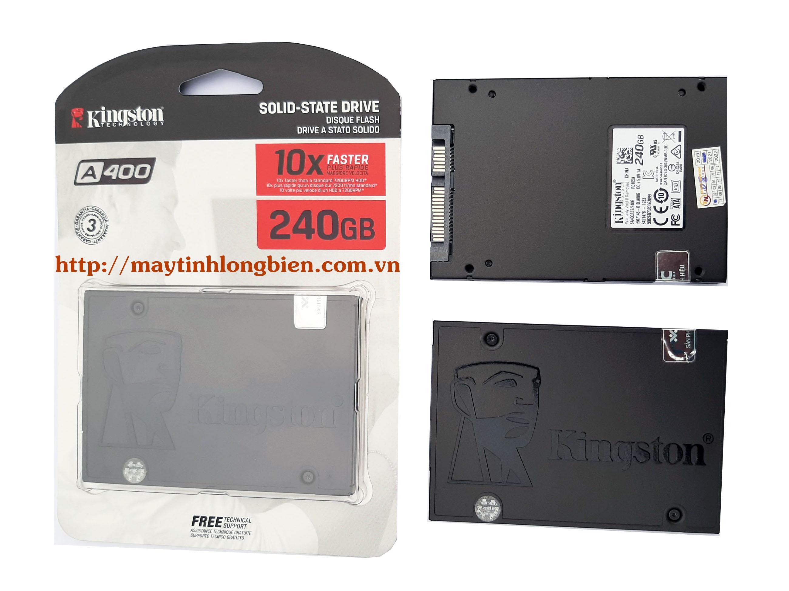 Giá Ổ CỨNG SSD KINGSTON 240G/SA400S37