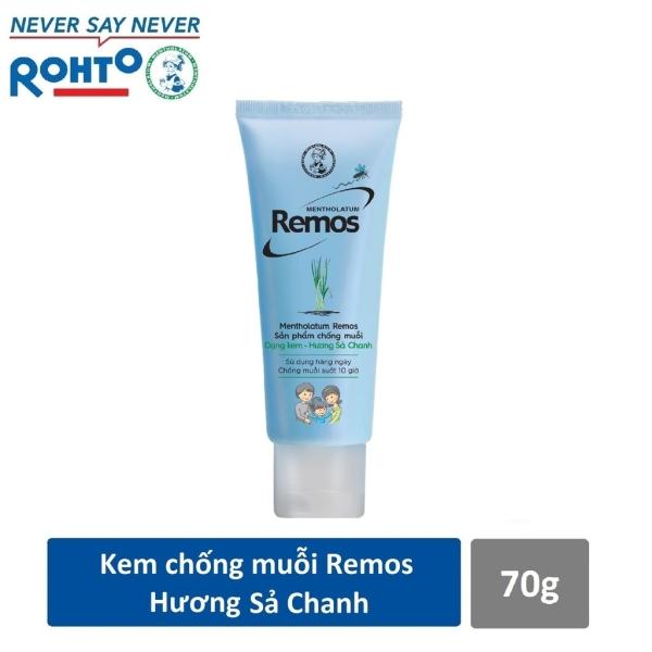 Kem chống muỗi Rohto Metholatum Remos Hương Sả Chanh 70g giá rẻ