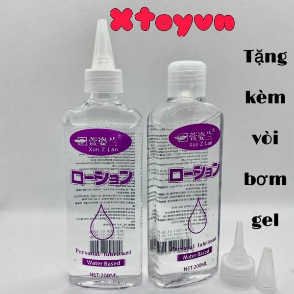Gel bôi trơn quan hệ Water Based Nhật Bản Đặc Sệt 200ml