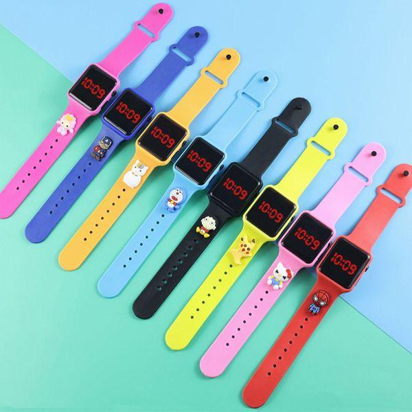 Nơi bán QUANLAO Phụ nữ Điện tử Kỹ thuật số Analog Thời trang Không thấm nước Đồng hồ đeo tay hoạt hình Xem trẻ em Đồng hồ kỹ thuật số LED Đồng hồ thể thao