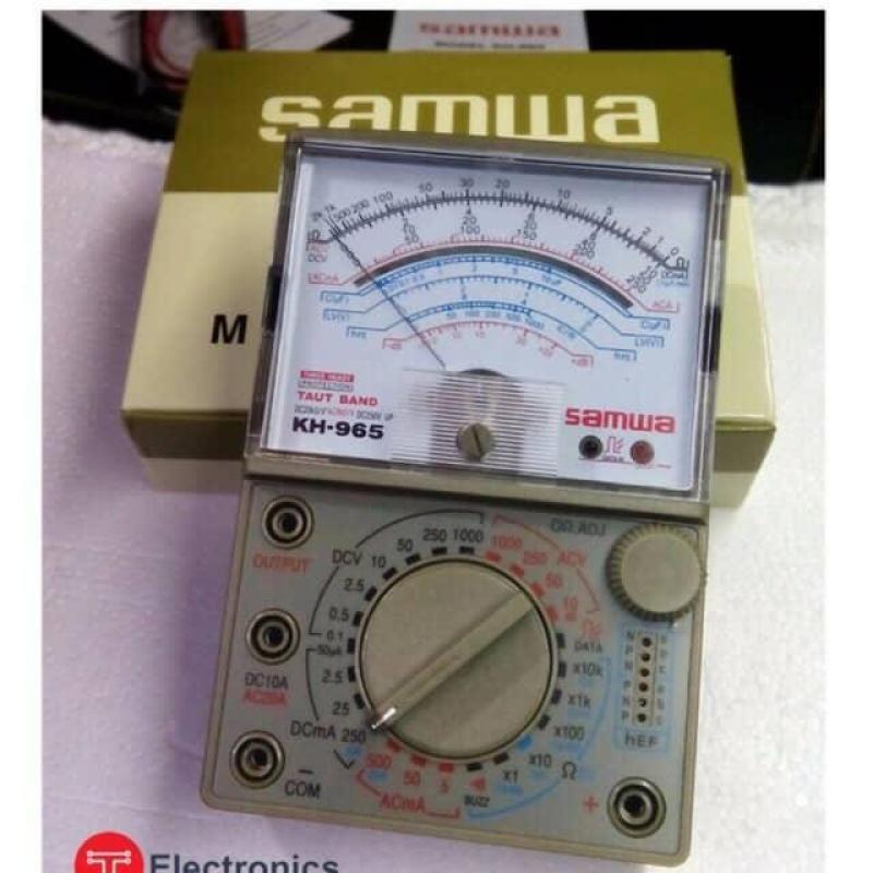 Đồng hồ vạn năng SAMWA KH-965+ Tặng Kèm pin 9v,3v