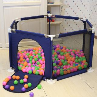 Lều bóng- Cũi bóng- Nhà bóng khung thép không rỉ (Tặng kèm bóng) thích hợp cho bé từ 6 tháng tuổi thumbnail