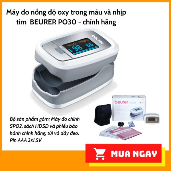 Nơi bán Máy đo nồng độ oxy Spo2 và nhịp tim Beurer PO30