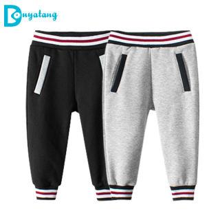 Clothing Quần Áo Trẻ Em Hàn Quốc Quần Nỉ Bé Trai Mùa Xuân 2021, Quần Len Cashmere Cho Trẻ Em